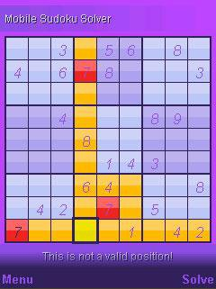 Download web tool or web app Mobile Sudoku Solver to run in Windows online over Linux online
