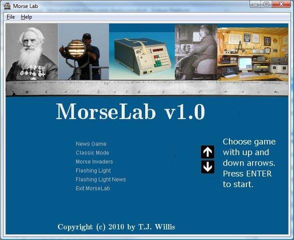 Download web tool or web app MorseLab to run in Windows online over Linux online