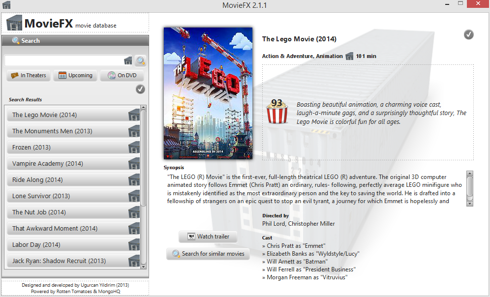 Download web tool or web app MovieFX to run in Linux online