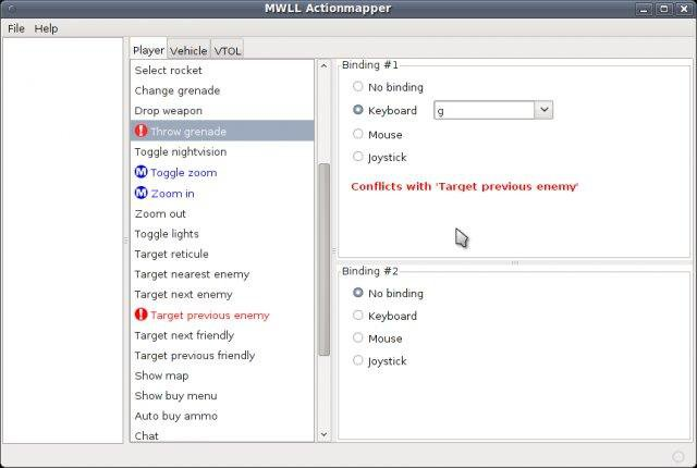 Download web tool or web app MWLL Actionmapper to run in Windows online over Linux online