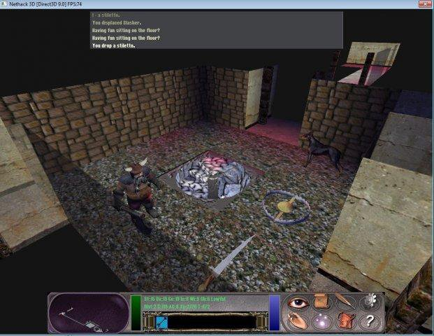 Download web tool or web app Nethack_3D to run in Windows online over Linux online