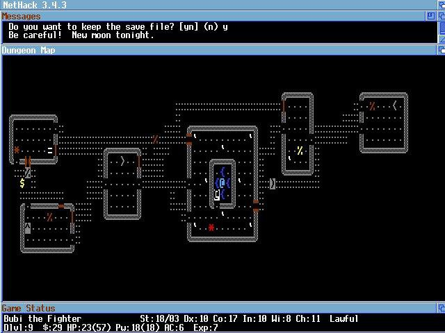 Download web tool or web app NetHack-AROS to run in Linux online