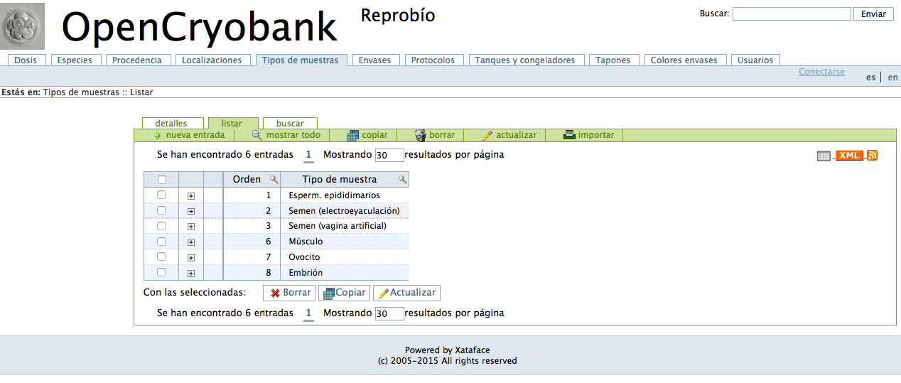 Download web tool or web app OpenCryobank to run in Linux online