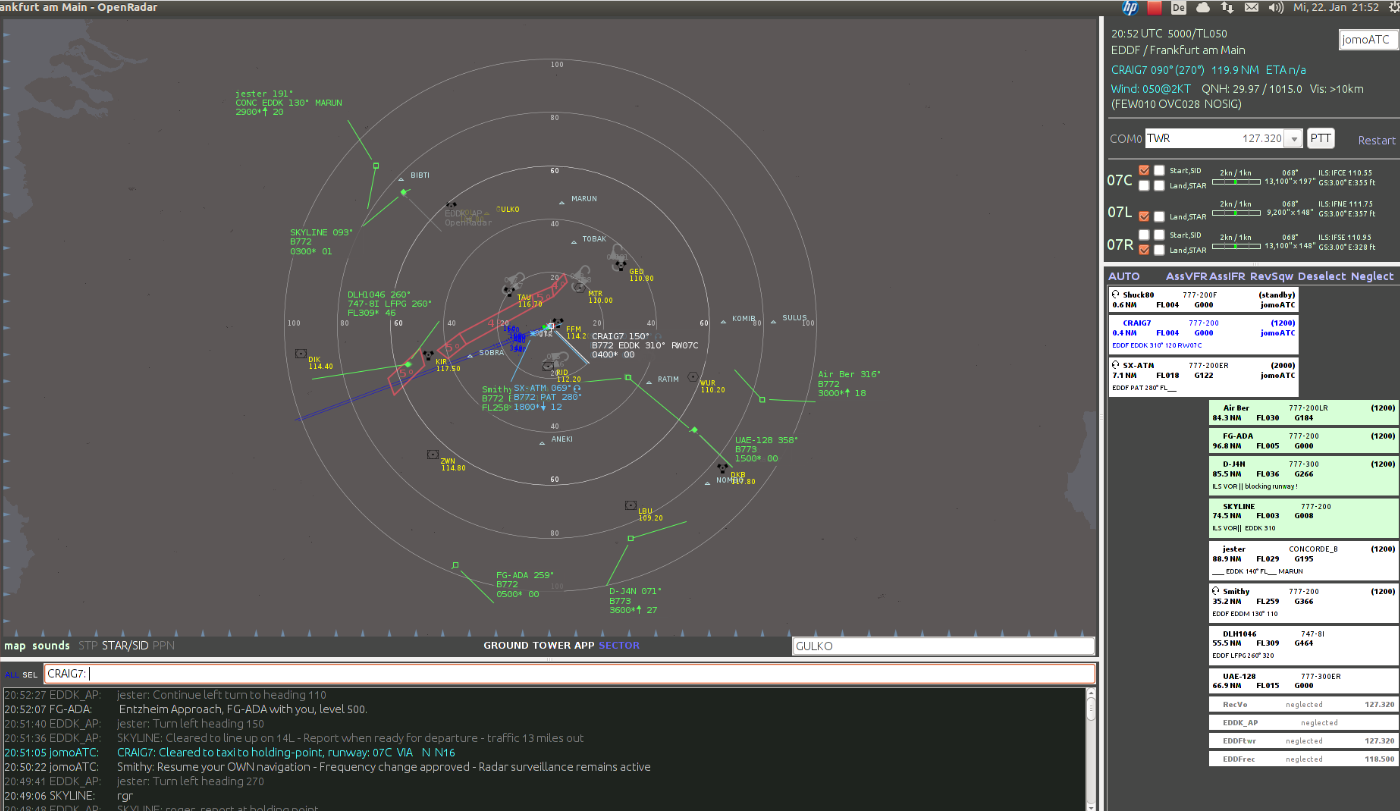 Download web tool or web app OpenRadar to run in Linux online