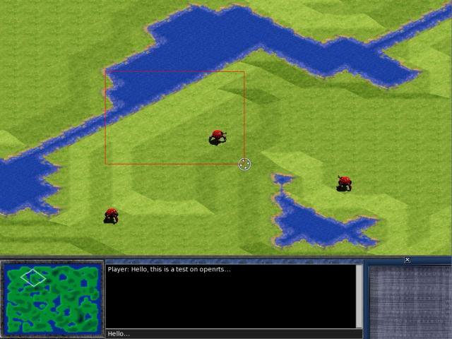 Download web tool or web app OpenRTS - real-time strategy game to run in Linux online