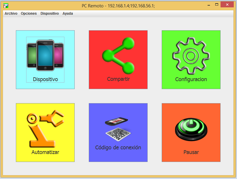 Download web tool or web app PC-Remoto to run in Windows online over Linux online