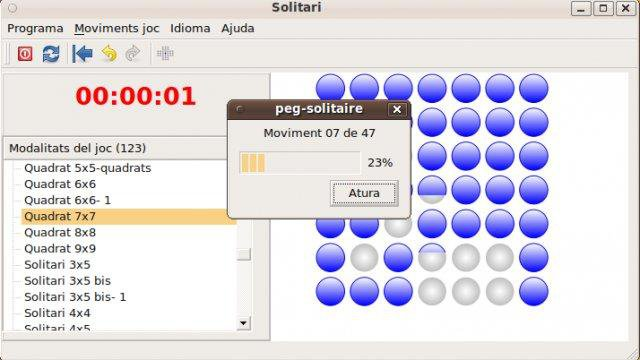 Download web tool or web app Peg Solitaire to run in Linux online