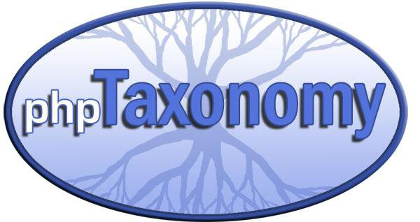 Download web tool or web app phpTaxonomy to run in Windows online over Linux online