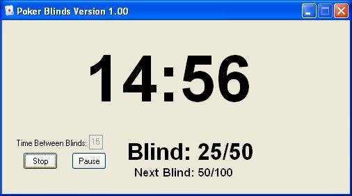 Download web tool or web app Poker Blinds to run in Windows online over Linux online