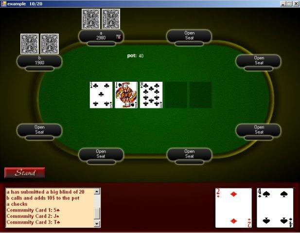 Download web tool or web app PokerHost to run in Windows online over Linux online