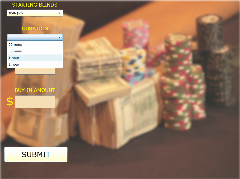 Download web tool or web app Poker Tournament Clock in Silverlight to run in Linux online