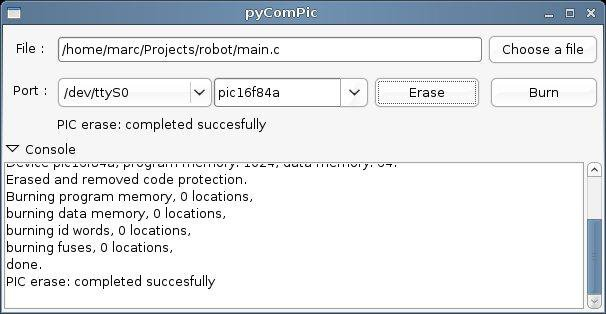 Download web tool or web app pyComPic to run in Linux online