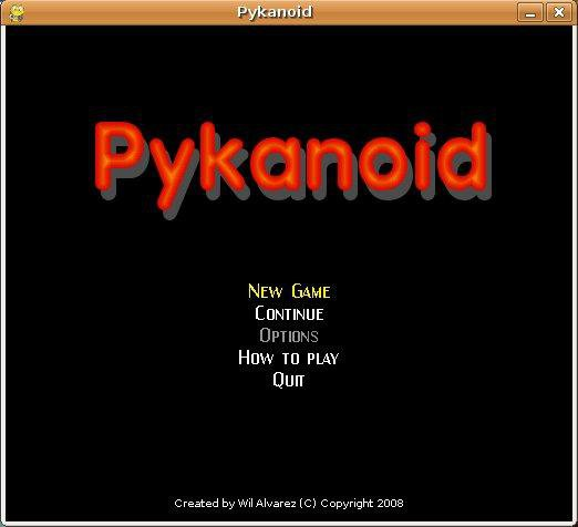 Download web tool or web app Pykanoid to run in Linux online