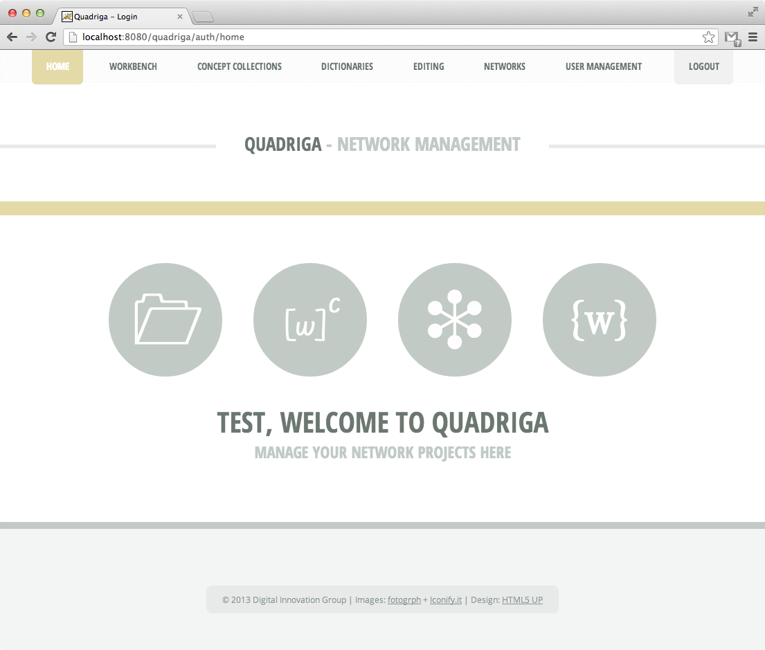 Download web tool or web app Quadriga to run in Linux online