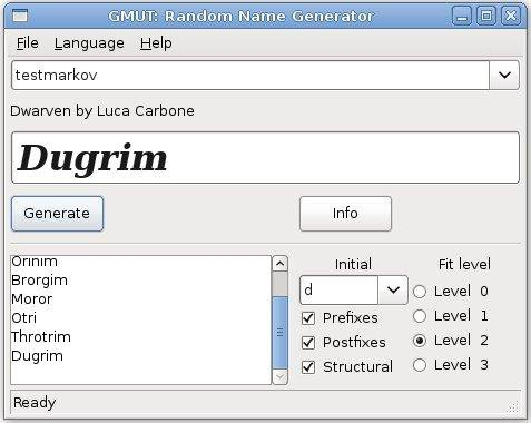 Download web tool or web app Random names and languages generator to run in Linux online