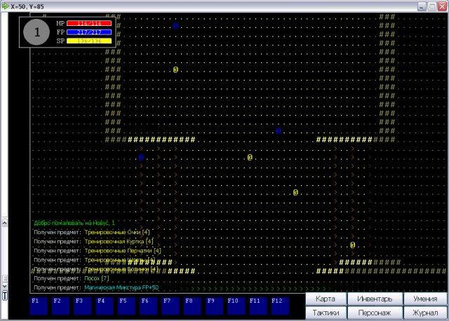 Download web tool or web app Rising Force the Roguelike to run in Windows online over Linux online