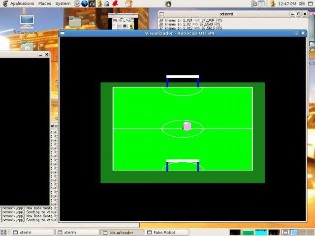 Download web tool or web app Robocup UTFSM to run in Linux online