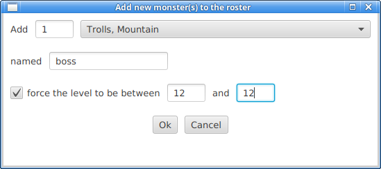 Download web tool or web app Rolemaster Individual Monster Sheet to run in Linux online