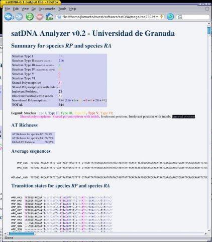 Download web tool or web app satDNA Analyzer to run in Windows online over Linux online