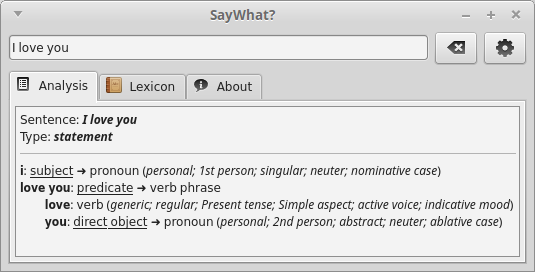 Download web tool or web app SayWhat? to run in Linux online