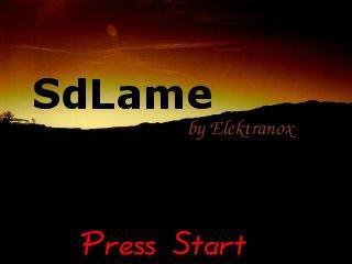Download web tool or web app SdLame to run in Linux online