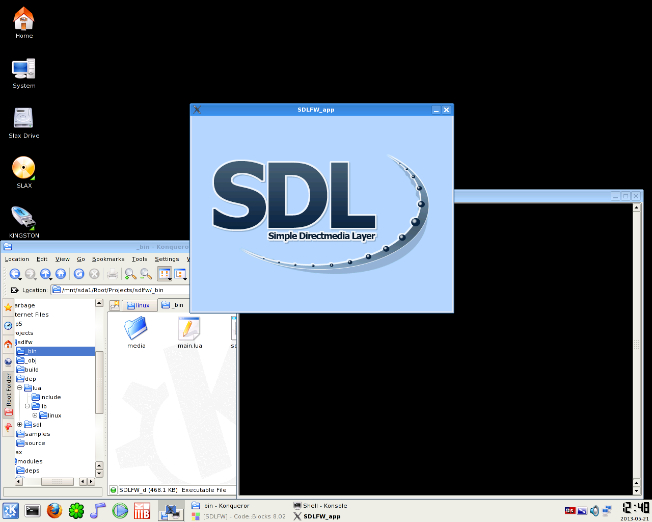 Download web tool or web app SDL Framework to run in Windows online over Linux online