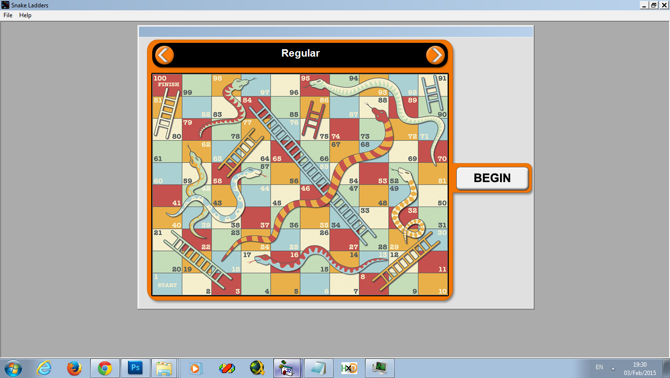 Download web tool or web app Snakes and Ladders to run in Windows online over Linux online