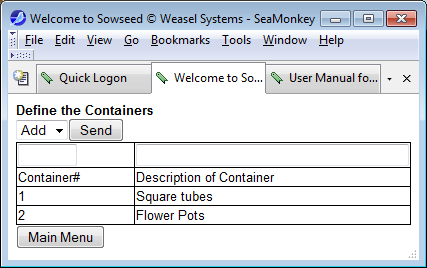 Download web tool or web app Sowseed to run in Linux online