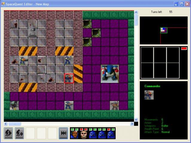 Download web tool or web app SpaceQuest to run in Windows online over Linux online