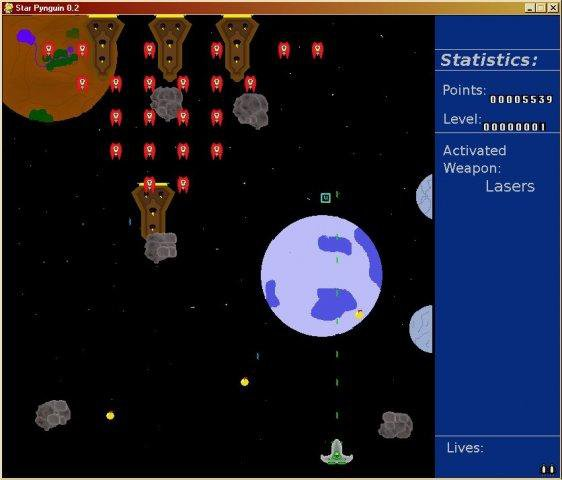 Download web tool or web app Star Pynguin Game to run in Linux online