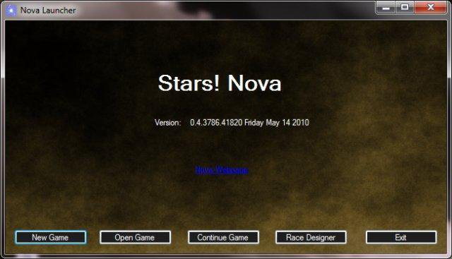 Download web tool or web app Stars! Nova to run in Windows online over Linux online