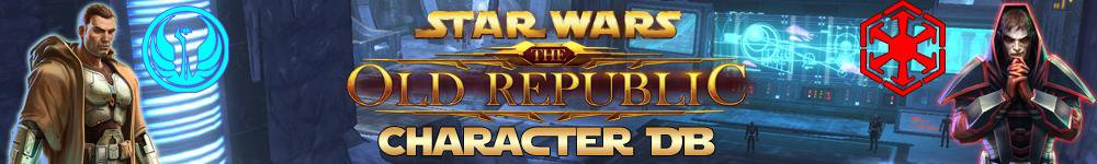 Download web tool or web app Star Wars Old Republic - SWTOR Char DB to run in Linux online