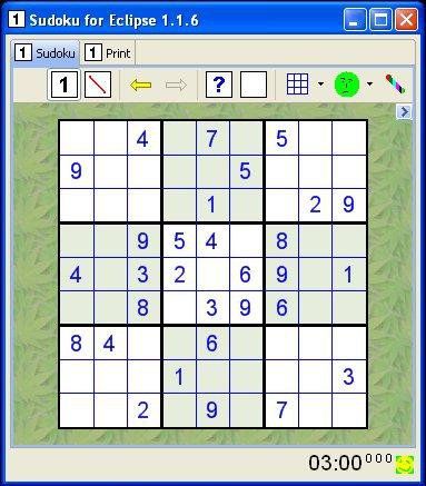 Download web tool or web app Sudoku for Eclipse to run in Linux online
