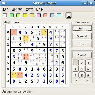Download web tool or web app Sudoku Savant to run in Linux online