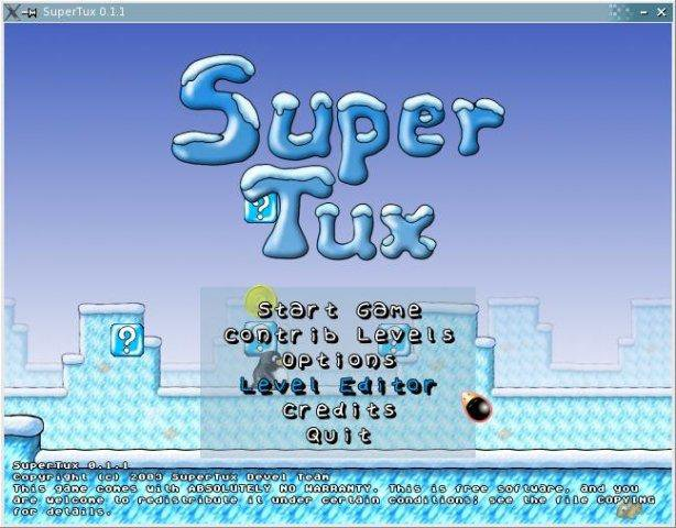 Download web tool or web app Super Tux to run in Windows online over Linux online