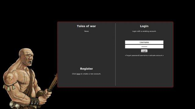 Download web tool or web app Tales of War to run in Linux online