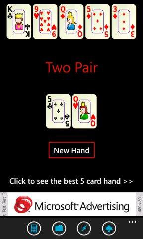 Download web tool or web app Texas Holdem Calculator to run in Windows online over Linux online