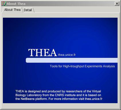 Download web tool or web app Thea to run in Windows online over Linux online