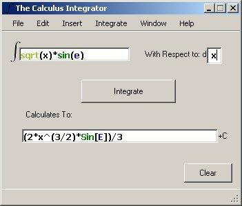 Download web tool or web app The Calculus Integrator to run in Windows online over Linux online