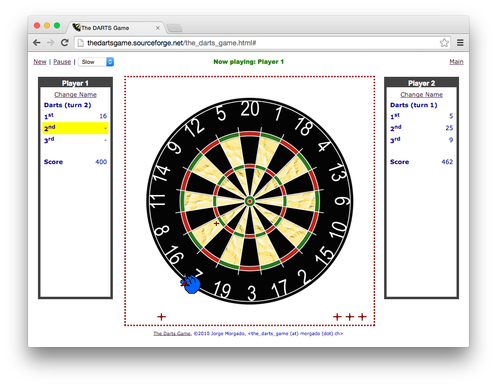 Download web tool or web app The Darts Game to run in Windows online over Linux online