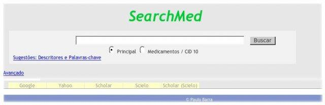 Download web tool or web app The Metacrawler  SearchMED to run in Linux online
