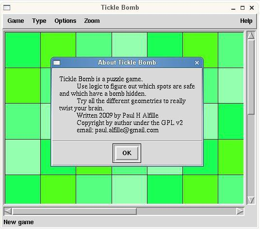 Download web tool or web app Tickle Bomb to run in Linux online