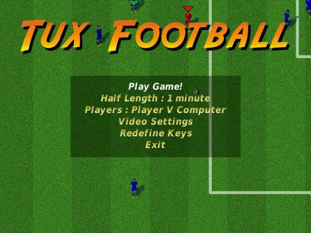 Download web tool or web app Tux Football to run in Windows online over Linux online