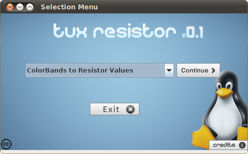 Download web tool or web app Tux Resistor to run in Windows online over Linux online