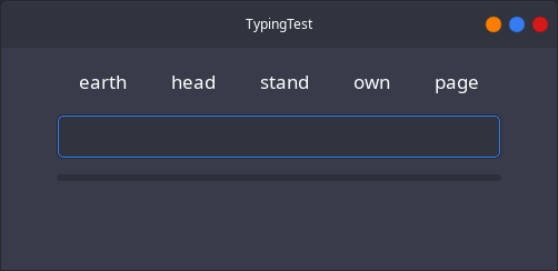 Download web tool or web app TypingTest to run in Linux online
