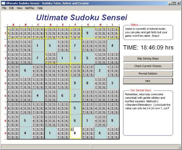Download web tool or web app Ultimate Sudoku Sensei to run in Linux online