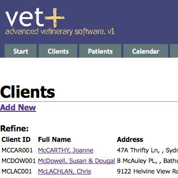 Download web tool or web app Vet+ to run in Linux online