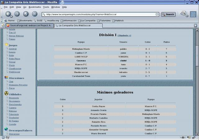 Download web tool or web app WebSoccer to run in Linux online