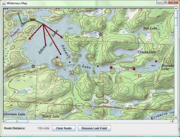 Download web tool or web app Wilderness Mapping Project to run in Windows online over Linux online