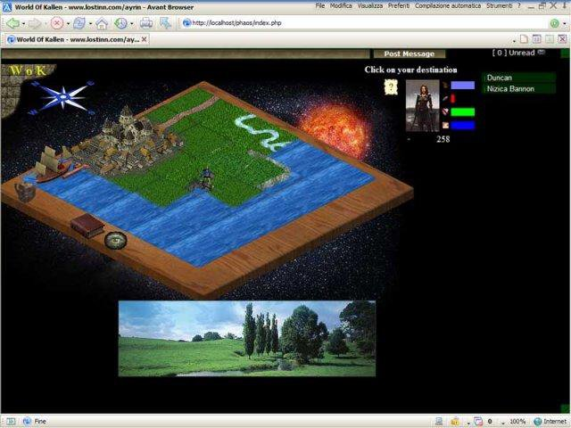 Download web tool or web app World of Kallen mmorpg to run in Linux online